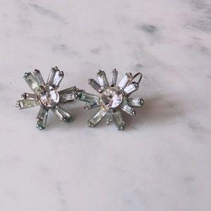 Crystal Starburst Earrings